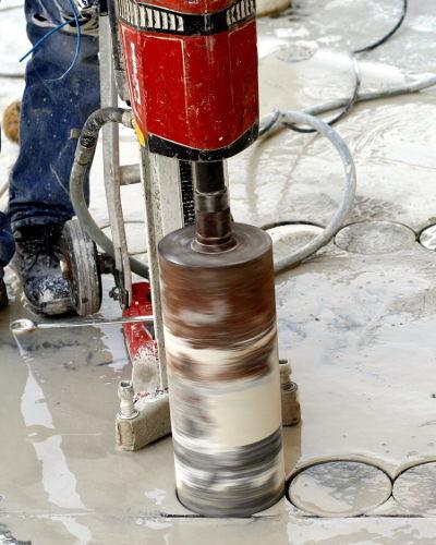 wiercenie w betonie łódź